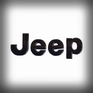 adesivo jeep nero