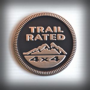 adesivo trail rated